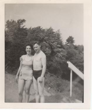 My Dad and Mom Together in the 1940s